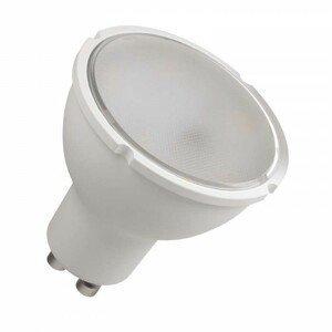 LED žiarovka Emos ZQ8351, GU10, 5,5W, číra, neutrálna biela