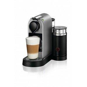 Kapsuľový kávovar KRUPS Citiz & Milk XN761B10 strieborny
