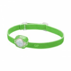 Čelovka GP CH31, LED, 2xCR2025, zelená