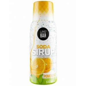 Sirup Limo Bar, pomaranče, stévia, 500ml