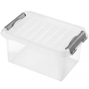 Úložný box s vekom Heidrun HDR601, 4l, plast