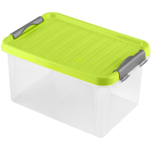 Úložný box s vekom Heidrun HDR602, 8l, plast