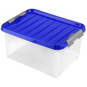 Úložný box s vekom Heidrun HDR604, 14l, plast