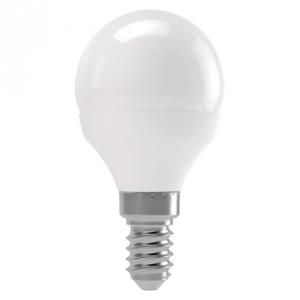 LED žiarovka Emos ZL1223, E14, 6W, guľatá, teplá biela