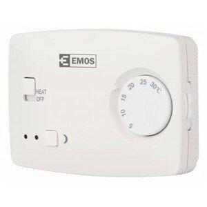 Izbový termostat Emos T3, káblový, manuálny