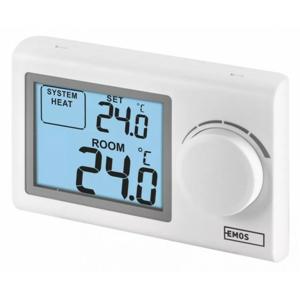 Izbový termostat Emos P5604, drôtový, manuálna