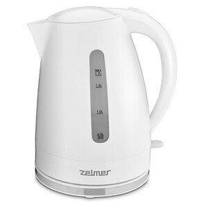Rýchlovarná kanvica Zelmer ZCK7617W, biela, 1,7l