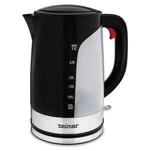 Rýchlovarná kanvica Zelmer ZCK7618, čierna, 2,5l