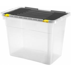 Úložný box s vekom Heidrun HDR660, 100l, plast MIERNA VADA VZHĽAD