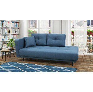 Lenoška Bony s úložným priestorom, modrá