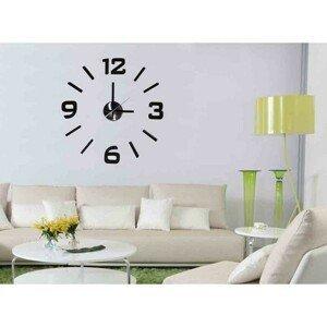 Nástenné hodiny - H18, 50 cm, čierna