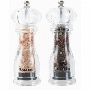 Sada mechanických mlynčekov na soľ a korenie Salter 7606CLXR