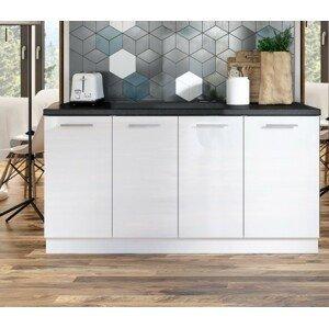 Kuchynská protilinka Emilia 160 cm (biela) - II. akosť