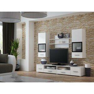 Snow - Obývacia stena (biela) - II. akosť