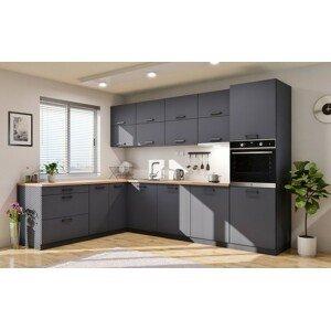 Rohová kuchyňa Lisa ľavý roh 300x220 cm - II. akosť