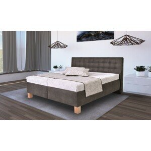 Čalúnená posteľ Victoria 180x200, vr. matraca - II. akosť
