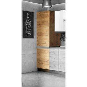 Potravinová skriňa ku kuchyni Brick light - II. akosť