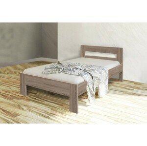 Rám postele Nikola II, 90x200, dub - II. akosť