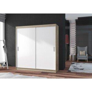 POP 2 - Skriňa 180x215x60 cm, posuvné dvere - II. akosť