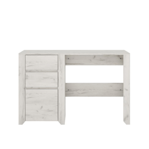 PC stôl typ 80, biela craft, ANGEL