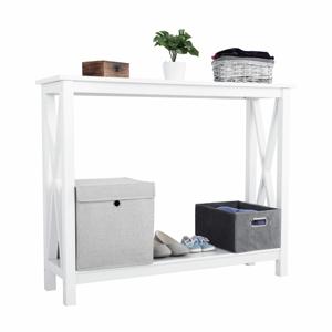 Konzolový stolík, biela, SONET