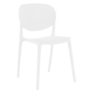 Stolička, biela, FEDRA