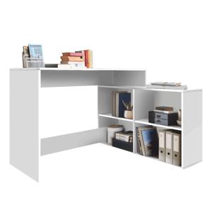 Univerzálny PC stolík, biela, KORNER NEW