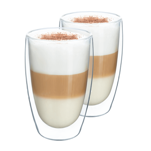 Termo pohár na latte, 2ks, 450ml, HOTCOOL TYP 2