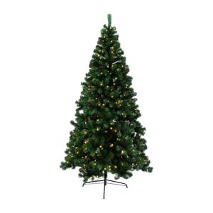 Vianočný stromček so svetielkami, zelená, 180cm, LED300, CHRISTMAS TYP 5