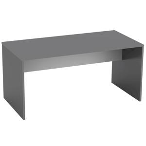 Písací stôl, grafit/biela, RIOMA NEW TYP 16