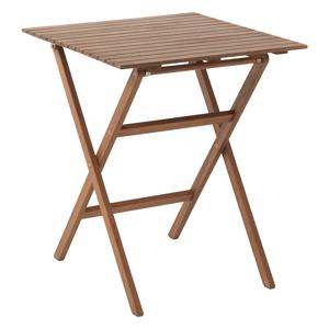 Záhradný/balkónový skladací stôl, akáciové drevo, EGELUND