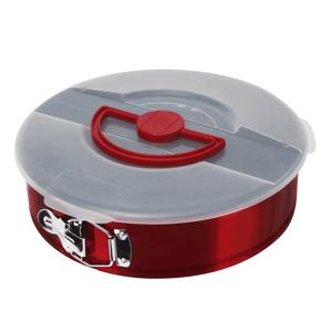 Forma na tortu, metalická červená burgundy BERLINGERHAUS BH-1554