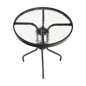 Záhradný stôl, čierna, BOJAR