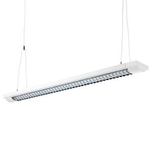 ALCO 2-plameňové rastrové svietidlo, dĺžka 155 cm