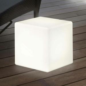 8 Seasons Solárna dekoračná lampa LED Shining Cube, 33cm