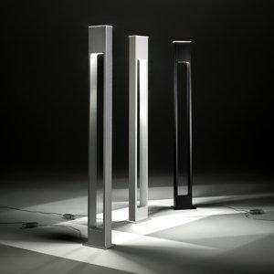 ALMA LIGHT BARCELONA Efektné stojace svietidlo Note v čiernej farbe