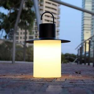 ALMA LIGHT BARCELONA Terasová LED lampa Nautic 6 x USB antracit