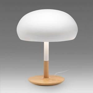 ALMA LIGHT BARCELONA Keramická stolná lampa Aspen v tvare hríba 45cm