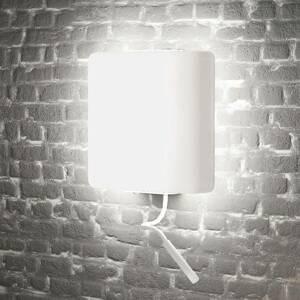 ALMA LIGHT BARCELONA Nástenné LED svetlo Square lampa na čítanie biela