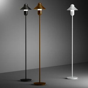 ALMA LIGHT BARCELONA Stojaca lampa CapsuleHat, corten