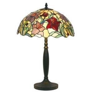 Artistar Kvetinová stolná lampa ATHINA ručne vyrobená 62cm