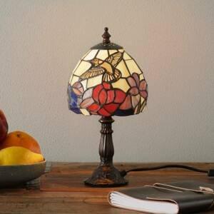 Artistar Stolná lampa Irena v štýle Tiffany