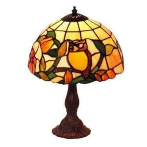 Artistar Stolná lampa s motívom JULIANA v štýle Tiffany