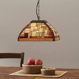 Artistar MOSAICO – závesná lampa v štýle Tiffany