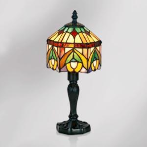 Artistar Dekoratívna stolná lampa Jamilia v štýle Tiffany