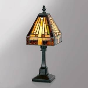 Artistar Viacfazetová stolná lampa BEA v štýle Tiffany