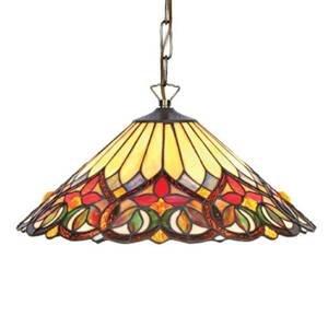 Artistar Závesná lampa Anni v štýle Tiffany