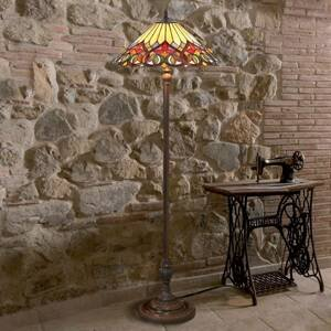 Artistar Stojaca lampa Anni v štýle Tiffany