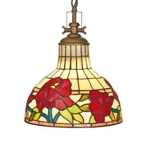 Artistar Závesná lampa Yria v štýle Tiffany