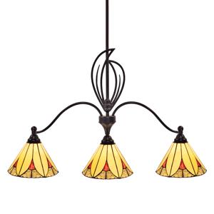 Artistar Závesná lampa Elisa 3-plameňová